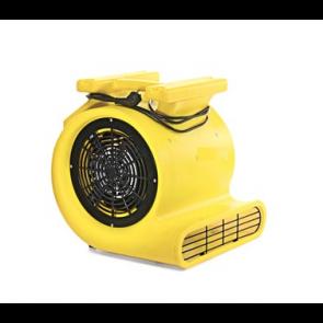 Ventilador turbo radial para secado de suelos moquetas tapizados