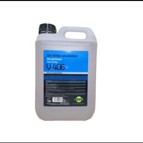 Gel hidroalcohólico higienizante de manos pH neutro