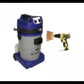 KIt limpiatapicerias con cepillo giratorio para equipo movil